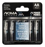 Piles AA NOMA Advanced, paq. 12 | NOMAnull