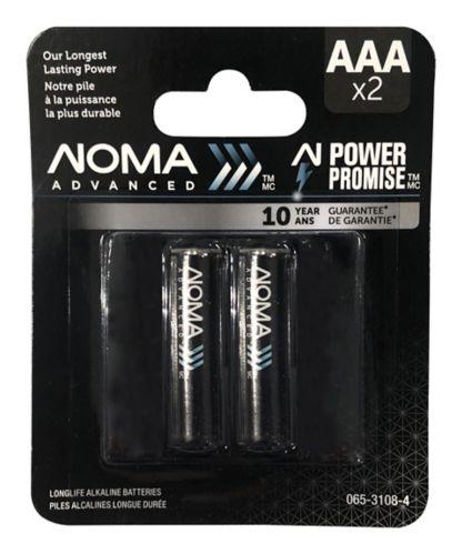 NOMA Advanced AAA Batteries, 2-pk Product image