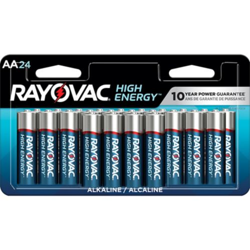 Rayovac HIGH ENERGY™ AA Alkaline Batteries, 24-pk Product image