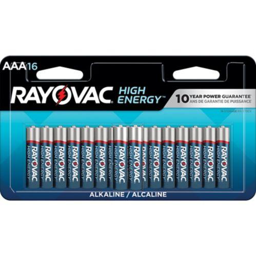 Rayovac HIGH ENERGY™ AAA Alkaline Batteries, 16-pk Product image