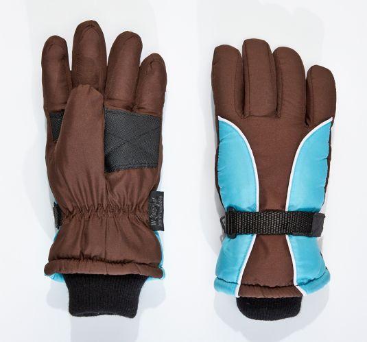 OPP Winterproof Kids' Ski Mitts, Brown Product image