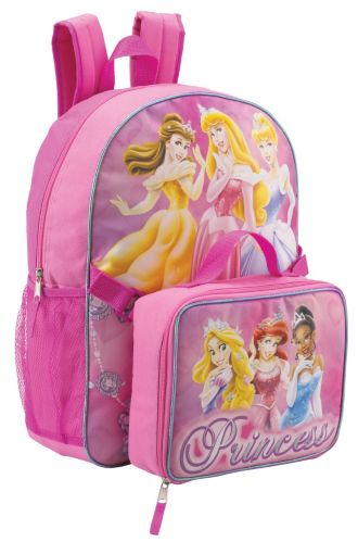 Disney Themed School Backpacks and Lunch Bag