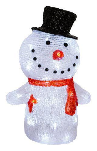 Merangue Holiday LED Light Up Snowman Product image