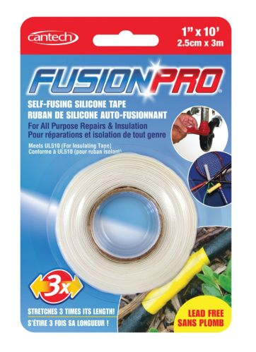 Fusion Pro Self-Fusing Silicone Tape, White
