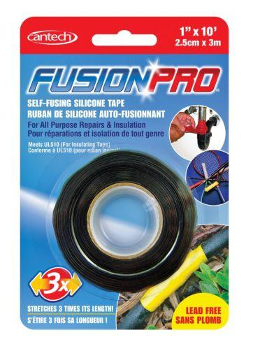 Fusion Pro Self-fusing Black Silicone Tape
