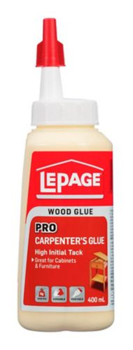 LePage Pro Carpenter's Glue, 400-mL