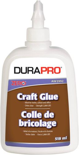 Dura ProCraft Glue, White, 518-mL Product image