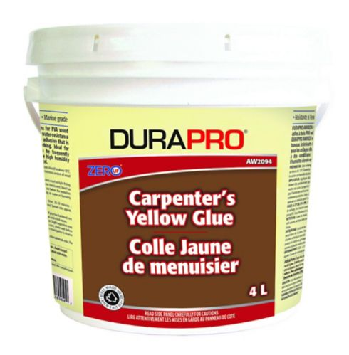 Dura Pro Carpenter's Glue, Yellow, 4-L Product image