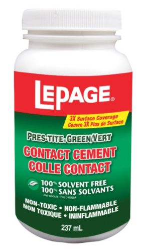 Colle contact LePage pour ciment, 237 ml Image de l'article
