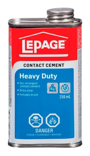 Colle contact ultra robuste avec pinceau LePage, 250 mL