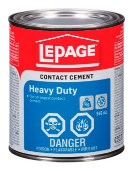 LePage Pres-Tite Contact Cement Adhesive, 0 95-L