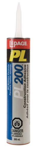LePage PL200 Panel & Construction Adhesive, 300-mL Product image