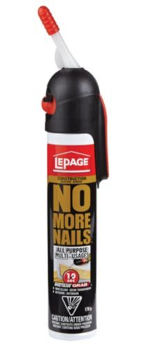 LePage No More Nails Instant Grab Glue Adhesive, 170-mL