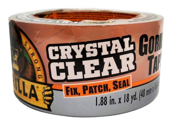 Gorilla Glue Crystal Clear Tape, 16.4-m