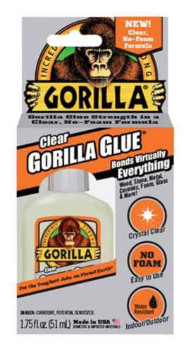 Colle Gorilla Glue transparente, 1,75oz Image de l'article