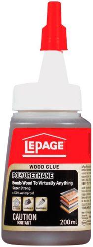 Colle pour le bois au polyuréthane LePage, 200 mL Image de l'article