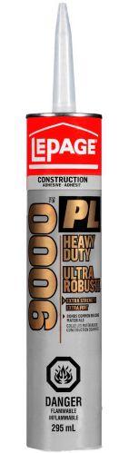 Adhésif de construction LePage PL9000, 295 mL Image de l'article