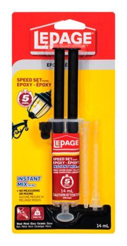 Mélange d'époxyde instantané LePage Speed Set, 14 mL Image de l'article