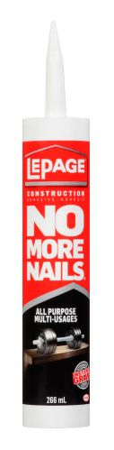 LePage No More Nails All-Purpose Construction Adhesive Product image