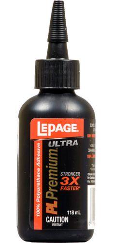 Colle de qualité au polyuréthanne LePage Ultra, 118 ml Image de l'article