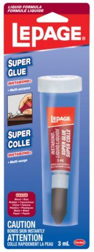 LePage Liquid Tube Super Glue Adhesive, 3-mL Product image