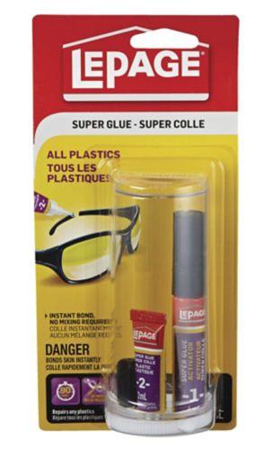 LePage All Plastics Super Glue, 2-mL Product image