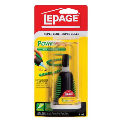 LePage Power Easy Control Gel Super Glue Adhesive, 4-mL Product image