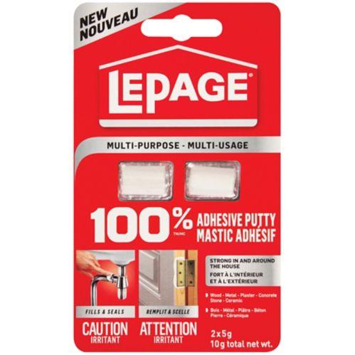 LePage 100% Putty Adhesive, 2-pk