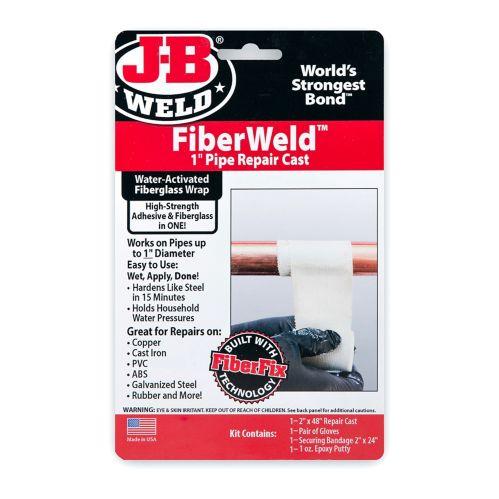 J-B Weld FiberWeld 1-in Pipe Repair Cast Wrap, 2-in x 48-in Product image