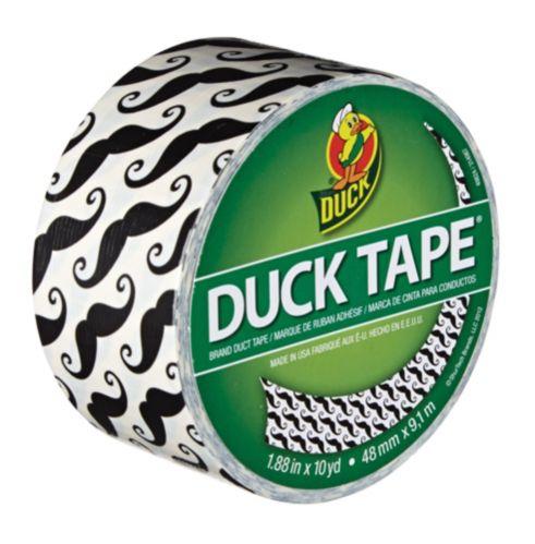 Ruban Duck Tape, motif moustache Image de l'article