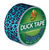 Blue Leopard Duck Tape | Ducknull