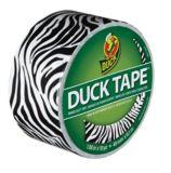 Ruban adhésif Duck Tape, motif zébré | Ducknull