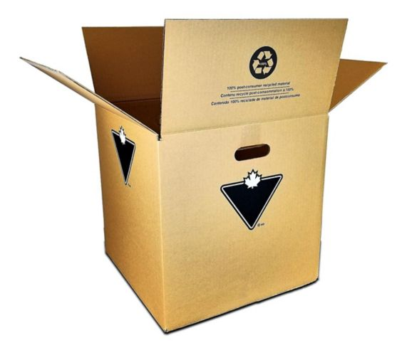 Medium Moving Box, 16-in x 16-in x 16-in Product image