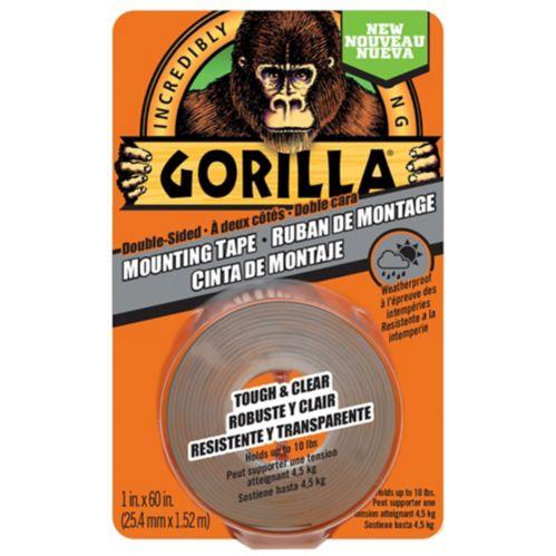 Ruban adhésif de montage Gorilla, transparent Image de l'article