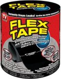 Flex Tape, Black, 4-in x 5-ft | Flex Sealnull