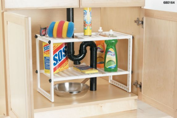 Under Sink Expandable Shelf Product image