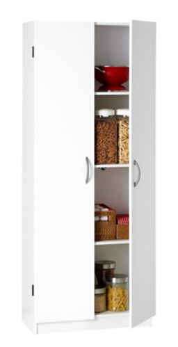 System Build 2-Door Storage Cabinet, White Product image