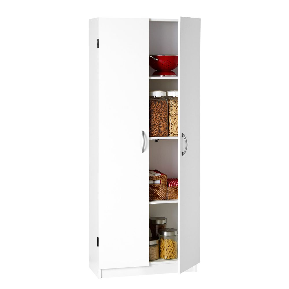 System Build 2-Door Storage Cabinet, White