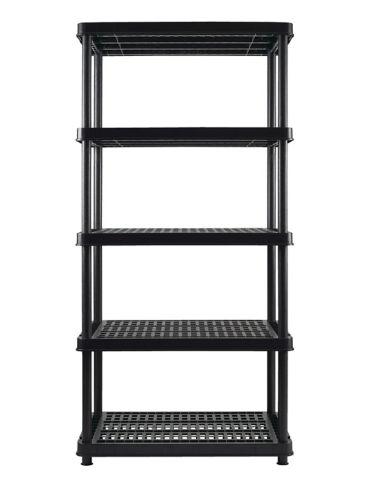 Certified 5-Shelf Resin Rack, 36-in x 24-in x 72-in Product image