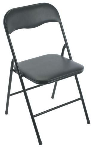 For Living Vinyl Padded Folding Chair
