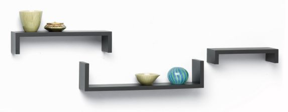 For Living Ledge Shelf, Dark