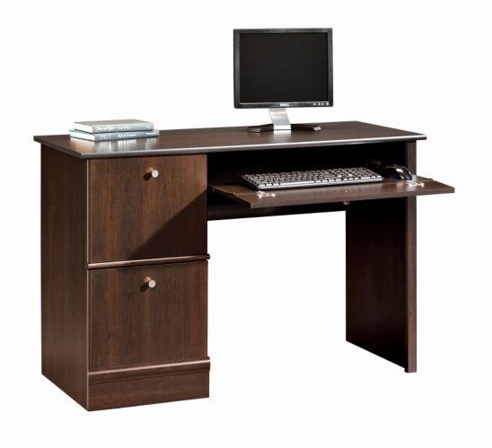 Sauder Cinnamon Cherry Computer Desk, 46.5 x 18.5 x 30.3-in Product image