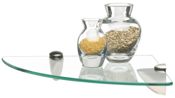Home Collections Glass Shelf, Corner Product image