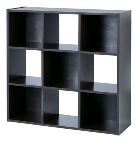 Étagère de rangement à 9 cubes For Living, chêne noir Image de l'article