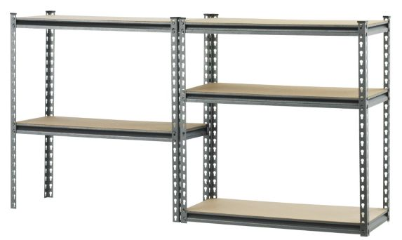 Mastercraft Maximum 5 Shelf Unit, 14 x 34 x 72-in