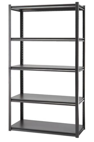 Mastercraft 5-Shelf Metal & Wood Rack, 72 x 41 x 18-in