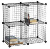 Cubes en fil métallique | FOR LIVINGnull