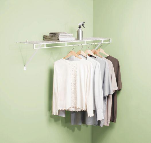 Rubbermaid Wardrobe Shelf, 4-ft Product image