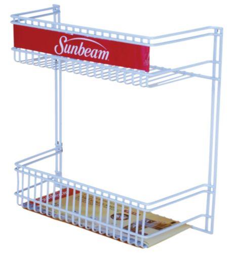 Panier de rangement à armoire For Living, 2 niveaux Image de l'article