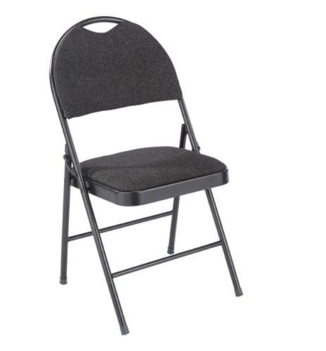 Chaise pliante à dossier haut For Living Designer, noir Image de l'article